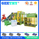 Linha automática máquina da máquina do bloco Qt10-15 do tijolo do cimento