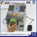 Fecha de vencimiento industrial de la impresión de la impresora de la codificación de la inyección de tinta Cycjetalt390 en el plástico
