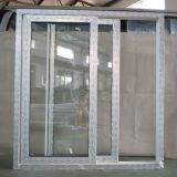 Kz232 finestra di scivolamento bianca di profilo di colore UPVC con la serratura a mezzaluna