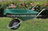 Wheelbarrow plástico do trole da bandeja