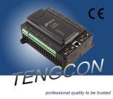 RS485/232와 이더네트 커뮤니케이션과 통합되는 8ai/2ao/12di/8do 중국 PLC T-910