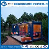 サンドイッチパネルの鉄骨構造の容器の家またはサンドイッチ売春宿20FTの容器の家