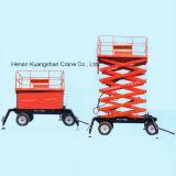 Plate-forme de levage de ciseaux hydrauliques mobiles de qualité (SJY)