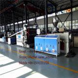 Da máquina de mármore artificial da fabricação da placa do PVC extrusora plástica para a placa de mármore artificial
