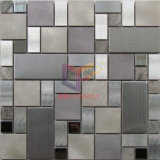 Het Roestvrij staal van de Mengeling van het aluminium en Marmeren Mozaïek (CFM1031)