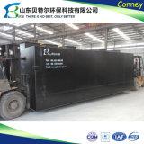 Installation de traitement d'eaux d'égout de module pour eau usagée domestique/industrielle