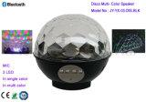 Alto-falante Bluetooth para cores e multi cores RGB / alto-falante de disco