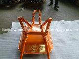 ナイジェリアの市場のための強い一輪車(WB6200-2)