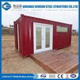 Chambre de conteneur pour le camp de travail avec la cuisine/toilette/clinique/ablution