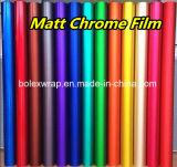 Film mat de vinyle de chrome de vente chaude pour l'emballage de véhicule