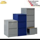 Gabinete de archivo del cajón del acero tres