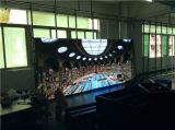 P10 실내 단계 중간 큰 광고 LED 스크린 전시