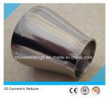 Réducteur sanitaire Polished de pipe de l'acier inoxydable Ss304 Ss316