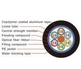 Câble optique de fibre de bande de 288 faisceaux