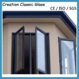 Doppio vetro della costruzione per il vetro di vetro di finestra di alluminio/acquazzone