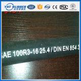 Hydraulischer Gummischlauch der umsponnenen dehnbaren Faser (SAE100R3)