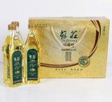 Boîte de empaquetage de papier d'or portative à vin