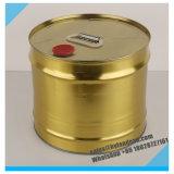 цвет Barrel_in круглого олова металла 10liters золотистый
