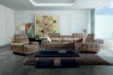 Wohnzimmer-echtes Leder-Sofa (SBO-5921)