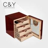 Деревянный Humidor сигары ящика (50-100 сигар)