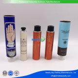 Round Industrial Package Container Cosmetic Tube Plastic Vazio de tubos de alumínio