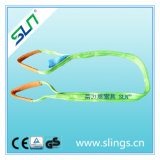 2t * 10m Flat Webbing Sling Eye to Eye 6: 1