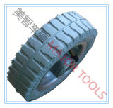 Milieubescherming het Pneumatische RubberWiel van 6 Duim voor Kinderwagen