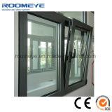 Ventana de aluminio de Tilt&Turn de la buena calidad/ventana de aluminio para la venta