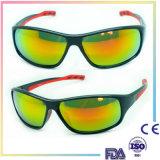 Le Mens fait sur commande folâtre des lunettes de soleil pour des glaces de bicyclette et de pêche