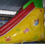 Inflatable novo Slide para Kids com Outdoor Slide
