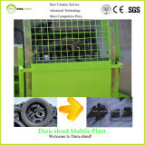Painting Coating Doubles Shaft Shredder for Waste Tire Recycling