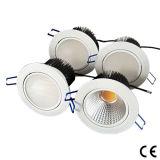 高い発電引込められたLED Downlight (COB/RGB/SMD5630)