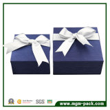 Rectángulo de papel de la venta de la joyería caliente del regalo con Bowknot