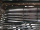 電流を通された波形の屋根シート
