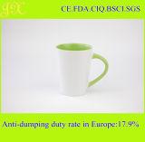 Tazas promocionales de cerámica para el regalo, tazas de la venta al por mayor de la fábrica de China de café de cerámica