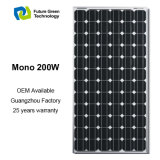 200W는 PV 모듈 최고 가격 태양 전지판을 도매한다