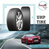 La parte radial china de la marca de fábrica de Roogoo pone un neumático los neumáticos de coche de la polimerización en cadena