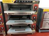 Four électrique de paquet commercial de 3 plateaux des paquets 6 dans le four de boulangerie (WDL-3)