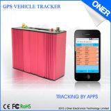GPS van het Voertuig van de Controle van SMS APP GSM Volgende Apparaten, het Web-Based Werken van het Platform