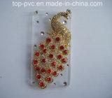 PVC Promotional 3D Plastic da alta qualidade para o iPhone Caso (IP0083)