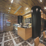 Patrón de mármol del piso de diseño (c1616-01H)