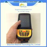 Colector de datos móvil con la impresora, explorador del código de barras, programa de lectura de RFID
