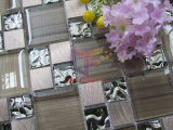 Алюминиевая мозаика бумаги стены смешивания кристаллический (CFC640)