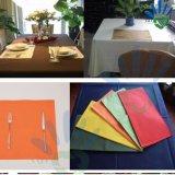 Nappe de coloration de Noël de décoration de mariage pour le mariage