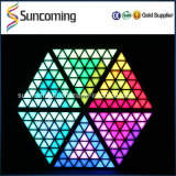 Cerimonia nuziale Decoration Super Brightness RGB Backdrop 3D LED Triangel Panel Light