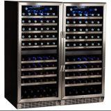 Congelador de cristal satinado de la puerta del vacío antihielo del producto
