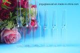 5ml de duidelijke Ampul van het Glas Borosilicate voor Kosmetisch Gebruik
