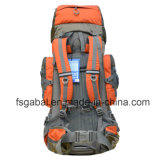 напольные водоустойчивые Nylon Backpacks мешка 50L для перемещения напольных спортов Hiking располагаться лагерем