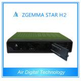 2015 più nuova ricevente satellite triplice del sintonizzatore DVB-S2+DVB-T2/T/C della stella H2 di Zgemma