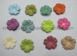 Flor de papel Multicolor/flores artificiais para o casamento & os ofícios de DIY